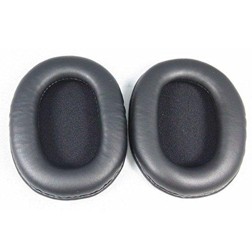 Pixnor Un Paio Di Ricambio Morbido PU Schiuma Cuffie Ear Pad Auricolari Per SONY MDR-7506 MDR-V6 MDR-CD900ST (Nero)