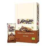 CLIF Barrita Energética De Avena Rellena De Crema De Chocolate Y Avellanas Bio - CLIF BAR - 68 gr. (caja 12 un.) Total: 816 g