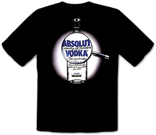 mmshop18 Vodka Absolut NegroE Fun niños T-Shirt Camisetas - 041 -SW Kids