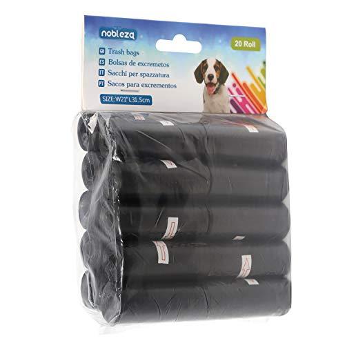 Nobleza - Sacchetti per Gli Escrementi dei Cani, 300 unità