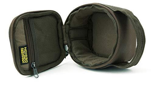 SHIMANO Tribal Sync Gear, Bleitasche mini, Anglerzubehör Tasche, 13,5x12,5x10cm, SHTSC09
