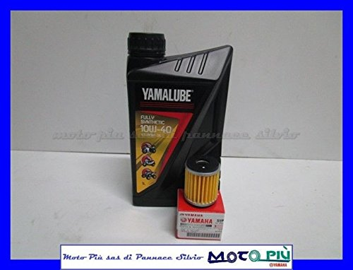 Wartungskit Yamalube 1Liter Öl + Filter Origin. Für Yamaha YZF-R12508–17