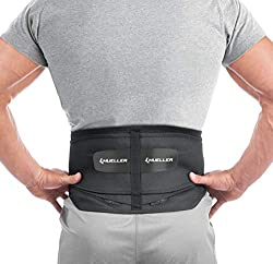 top rated Mueller 255 rear lumbar support with removable cushion, black, standard (packages may vary) 2021