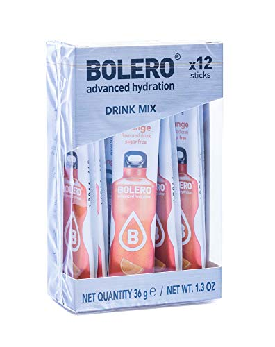 Bolero Sticks Orange 12 x 3g