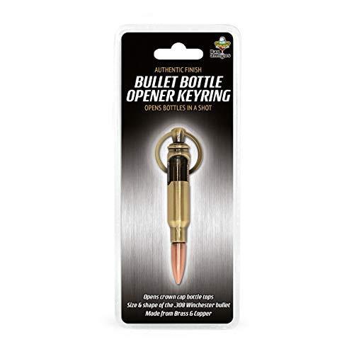 Questo apribottiglie piccolo e facile da usare aprirà la vostra bottiglia in un colpo. Pratico portachiavi, si può portare con sé ovunque, quindi non rimarrete bloccati ovunque vi trovate. L'apribottiglie IGGI™ Retro Bullet ha le stesse dimensioni e ...