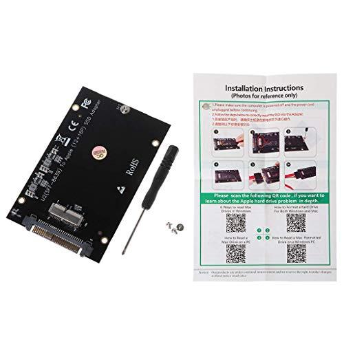 ARTFFEL Scheda Madre M2 SSD Adattatore for SSD Drive SFF-8639 Kit Adattatore for Mac Book Air-PRO Retina 2013 2014 2015 .CASA