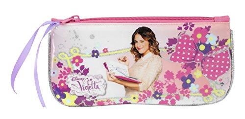 Disney Violetta Schlampermappe Schlamper Stifte Etui Tasche Faulenzer Mappe 028