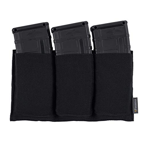 Fantastic Prices! IDOGEAR Triple Mag Pouch Molle Magazine Pouches Open-top for M4/M16/AR/AK Rifle Ma...