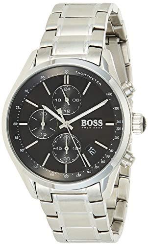 Hugo BOSS Reloj para hombre 1513477 con pulsera de metal