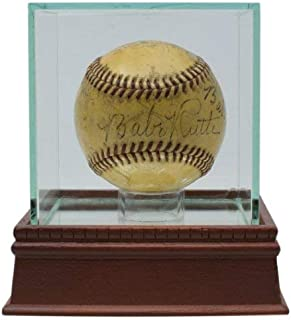 1943 Babe Ruth Autographed Signed Twice Onl War Bond Baseball Wagner, Johnson + Others JSA