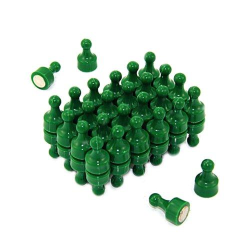 Magneet Expert Green Skittle Magneet - Kantoor & Koelkast (12 mm dia x 21 mm hoog) (48 stuks)