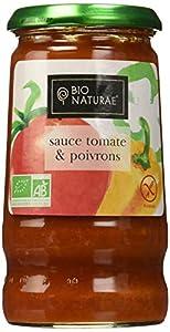 Bionaturae Sauce Tomate & Poivrons 345 g - Lot de 3