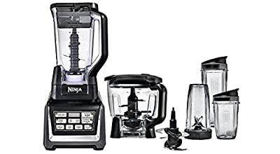 Nutri Ninja Blender Duo with Auto-iQ 2HP Blender with Food Processor Bowl (Certified Refurbished)