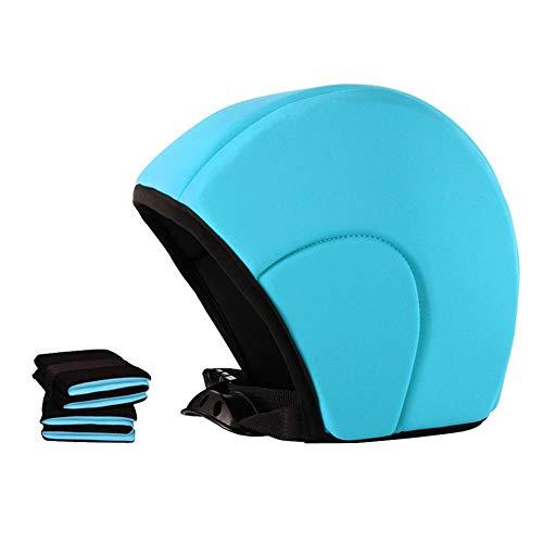 Three-Piece Swimming Pool Floating Helmet Beginner Children Arm Ring Water Sleeve Swimming Artifact Adult Floating Cap Arm Swimming Ring