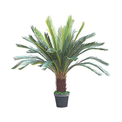 自然に近い39in /人工ソテツ47in、100センチメートル/ 120センチメートル現実的なフェイク植物人工樹木人工植物のために家庭やオフィスの装飾 (Size : 100cm)