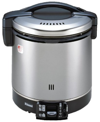 リンナイ こがまる ガス炊飯器 11合炊き・ブラック・都市ガス13A用 RR-100GS-C 13A