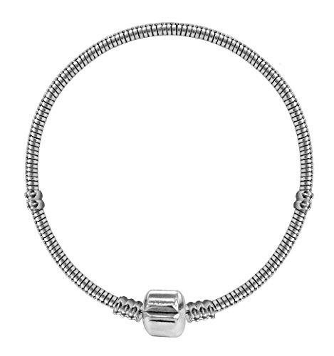 VIKI LYNN–Ciondoli e Perle Soffiato Stile Murano per Gioielli Migliori ventes-Style Casuale, Colore: Style F-Bracelet pour perlesX1, cod. B005XMEP5G-mbzj