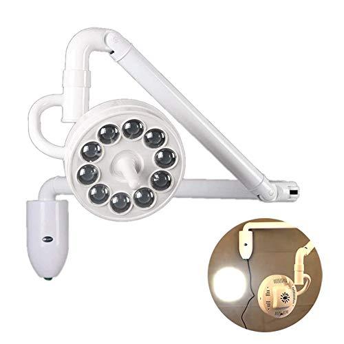 360 ° Rotación 30W Colgar En La Pared Lámpara Led Quirúrgico Examen Médico Sin Sombras Luz Fría Dental Cirugía Lámpara De Examen