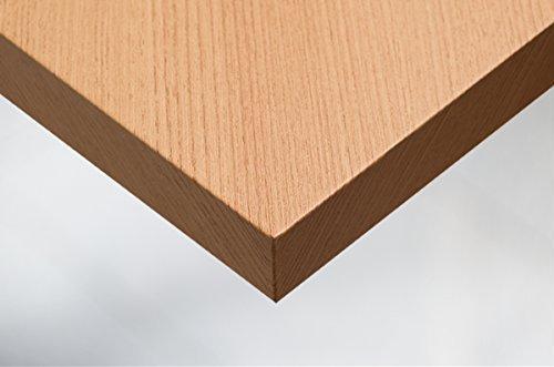 Cover Styl 20,16€/m² Premium Klebe Folie Holz Optik B4 - HELLE Eiche Deko Möbelfolie selbstklebend Struktur 122cm Breite