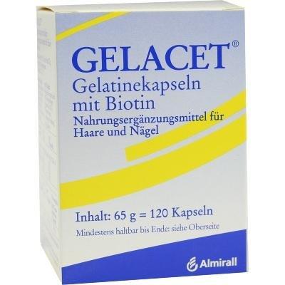 Gelacet Gelatine mit Biotin, Kapseln, 120 St