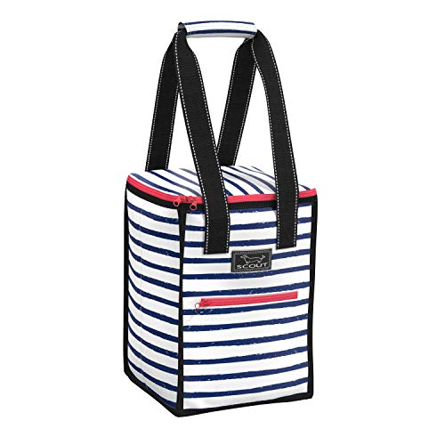 SCOUT Pleasure Chest Soft Cooler, 4 Bottle Wine Cooler Bag, Insulated, Collapsible, Lightweight, and Portable Beach Cooler Tote Bag