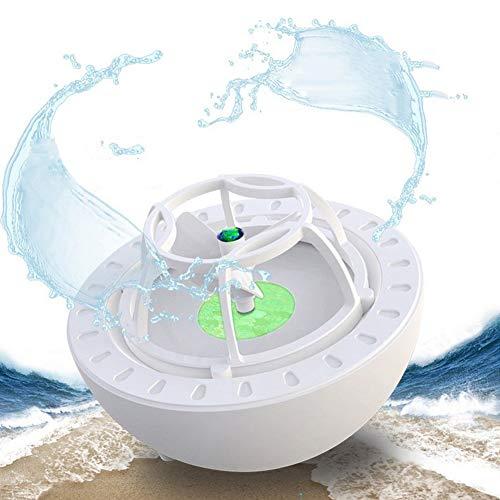 FengJ Mini USB Lave-Vaisselle Machine, Ultrasons Lave-Vaisselle Portable pour Évier de Cuisine Ménage Nettoyage,Vert
