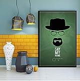 Poster Breaking Bad Classic Series De TV Muestra Nuevo Arte Clsico Lienzo Pintura Al leo Arte Imgenes De Pared Sala De Estar Decoracin del Hogar 50 * 70 Cm Sin Marco