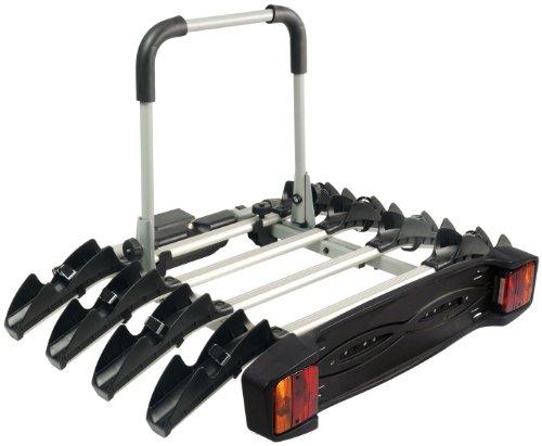Automaxi Allroad 4 - Portabicicletas para Parte Trasera de Coche (4 Bicicletas)