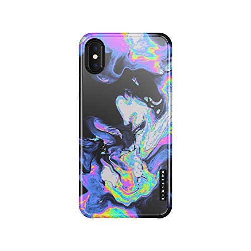 iPhone Xs Max Case Watercolor, Akna Sili-Tastic Series High Impact Silicon Cover with Full HD+ Graphics for iPhone Xs Max (Graphic 102002-U.S)