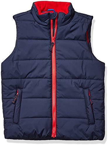 Amazon Essentials Heavy-Weight Puffer Vest Down-Outerwear-Vests, Marino, S