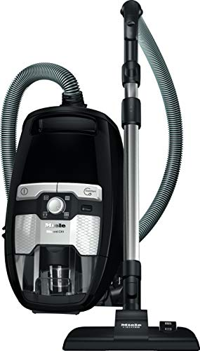 Miele Blizzard CX1 Ecoline 550 W - Aspiradora (550 W, Aspiradora cilíndrica, Secar, Sin Bolsa, 2 L, HEPA,Miele AirClean)