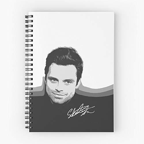 B Sebastian Signature Spiral Stan Cutouts W Cute School Five Star Spiral Notebook With Durable Print
