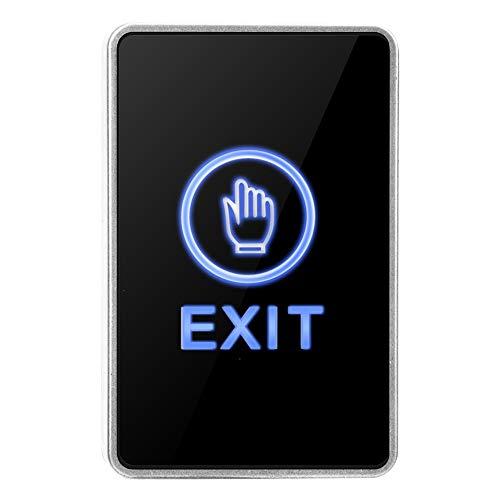 Sistema de Control de Acceso Botón de Salida,NO NC COM Toque Interruptor de sin Pulsador Pulsador de Salida con luz LED