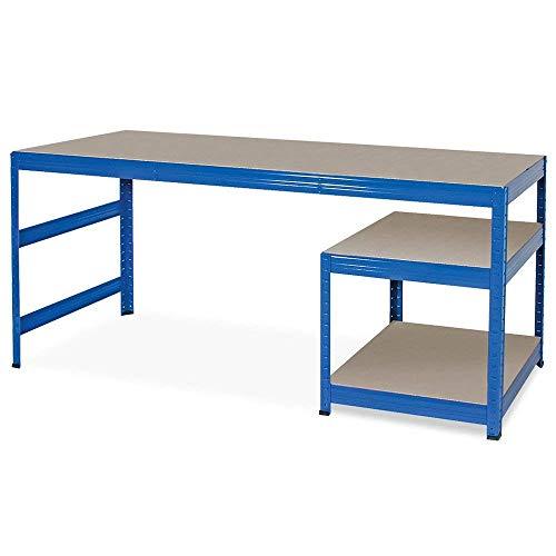 BRB Arbeitstisch/Packtisch/Werkbank, HxBxT 900x1800x600 mm, Unterbau HxBxT 515x600x600 mm