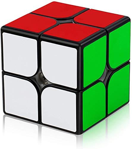 FAVNIC Cubo de Velocidad, Cubless Cubo de Mágico Speed 2x2 Cubo de Mágico Puzzle