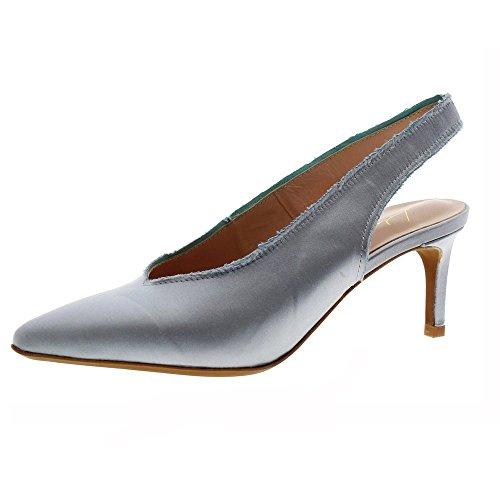 Zapatos Mujer Salones Peep_Toes Lola Cruz 012z85bk Celeste 38