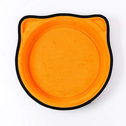 Warm huis oranje EVA zuignap opknoping kat vier seizoenen universele opknoping vensterbank huisdier benodigdheden kat hangmat mooi