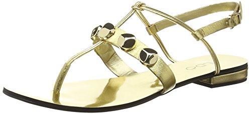 ALDO Damen Yella T-Spangen Sandalen, Gold (Gold / 82), 40 EU