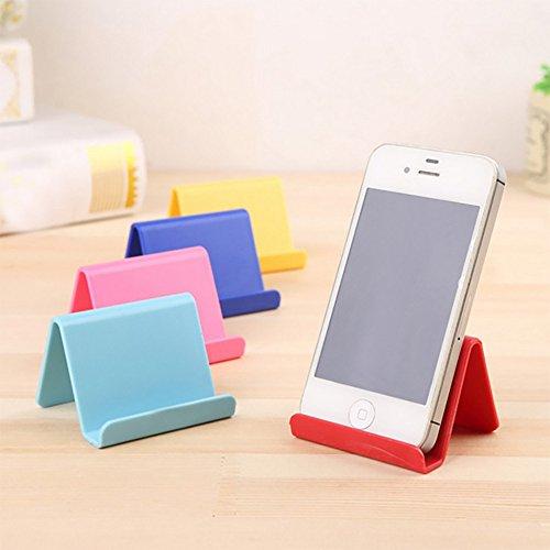 Gotian Handy-Halterung Candy Mini Portable Fixed Holder Home Supplies ~ unregelmäßige Form ~ praktisch und tragbar (64.5 cm) himmelblau