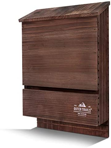 Outer Trails Two Chamber Bat House Brown product image