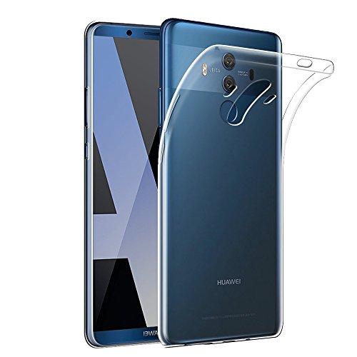 Gosento Huawei Mate 10 Pro ケース クリスタル クリア 透明 TPU素材 Mate10 Pro 保護カバー (クリア)