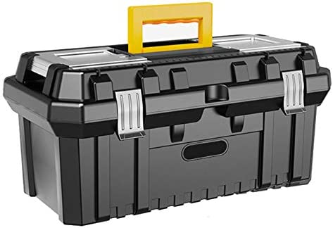 21 Inch Multi Purpose Toolbox with Tray Household Plastic Tool Organizers Tool Storage Box product image