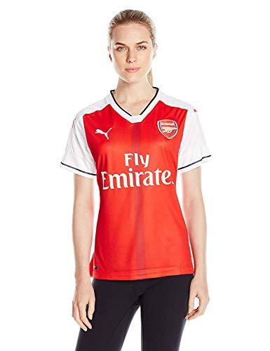 PUMA Womens Arsenal Licensed Replica Jersey 2016-2017, Medium, Home