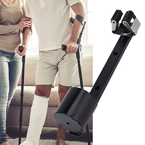 Ruiqas Soporte de Soporte de muleta portátil para bastón Soporte de Montaje para Movilidad Scooter Andador de Silla de Ruedas