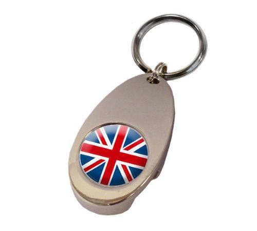 Asbri Reino Unido Crested Golf Tech Llavero