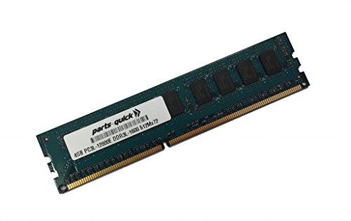 4GB Memory for ASUS P9 Motherboard P9D-C/4L DDR3L-1600MHz PC3L-12800E ECC UDIMM (PARTS-QUICK Brand)