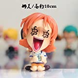 Modelo Figurilla Coleccionable Anime De Bricolaje Dormitorio Creativo Sombrero De Paja Luffy Cara Hi...
