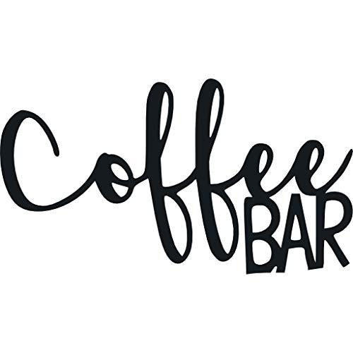 Coffee Bar - Metal Wall Art