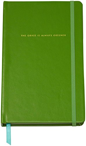 kate spade new york Take Note Large Notebook, Grass is Greener
