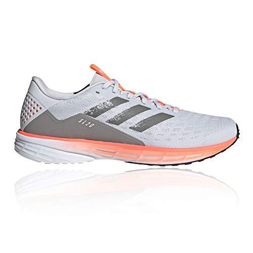 adidas Herren Sl20 Laufschuhe, Dash Grey/Dove Grey/Core Schwarz, 45 1/3 EU